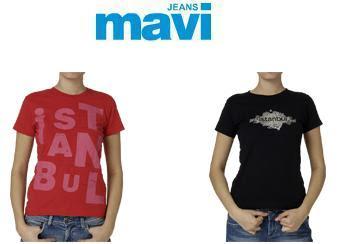 mavi4 - Mavi Jeans �stanbul T-shirt 'leri