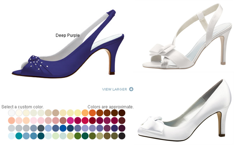 style sensibility lela rose for payless affordable bridal shoes