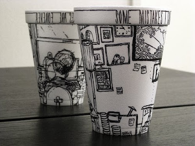 Boey's coffee cup drawing