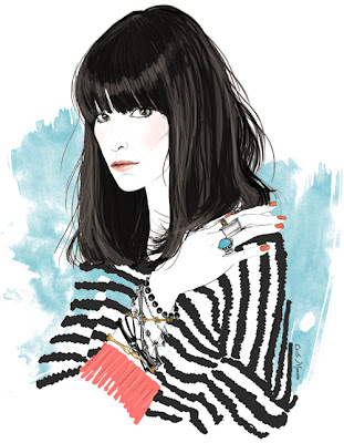 Cecile Mansion, fashion design and illustration, Paris, France
