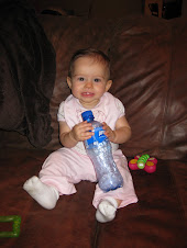 playing with Propel bottle