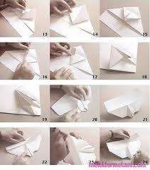Kağıttan uçak nasıl yapılır video