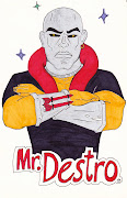Above is a morph of Mr. Clean and Destro from G.I. JOE.