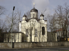 Russische orthodoxe Auferstehungs-Kathedrale in Berlin