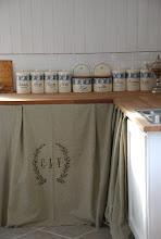 Mer detaljbild i köket i vårt gästhus