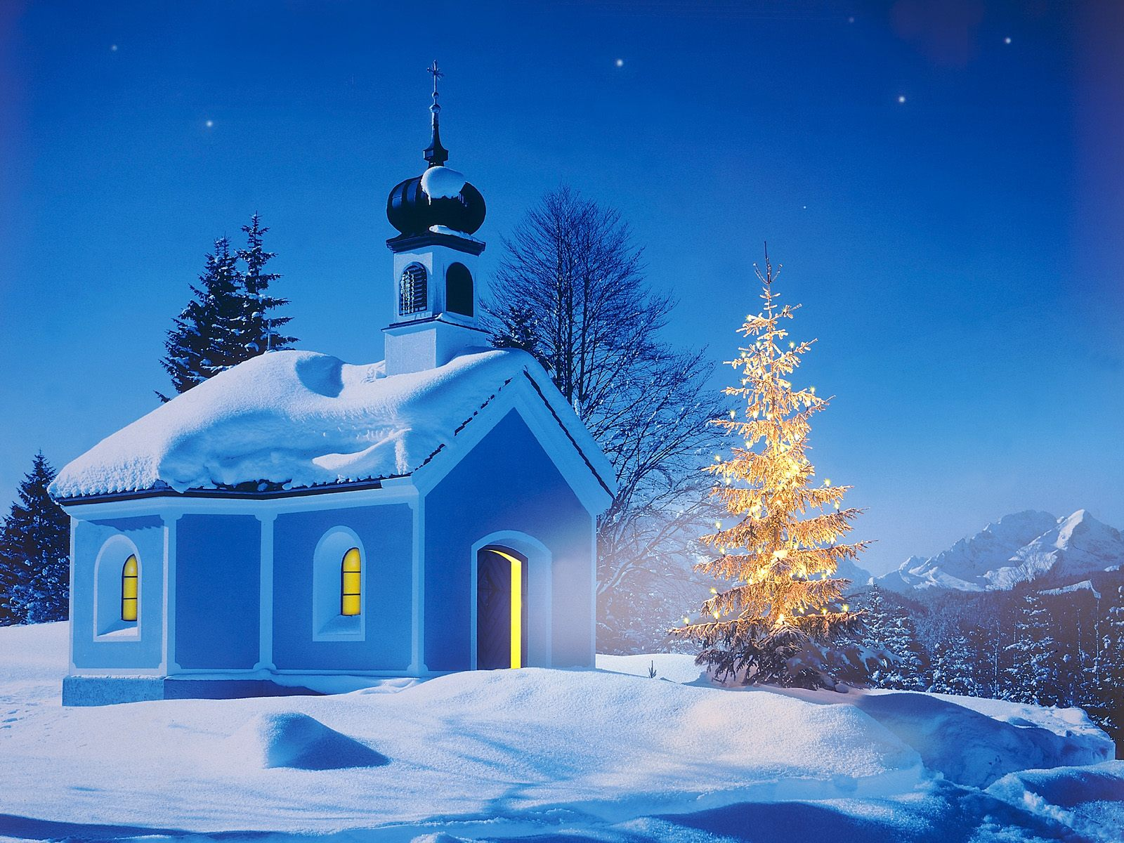 Free christmas cards 2010 for Screensaver natale 3d