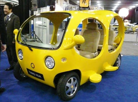 Design Amphibious Tang Hua Detroit Fish Car