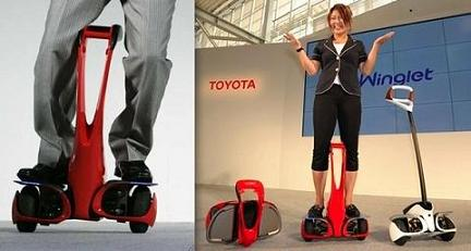 rival, Segway, Toyota, Winglet