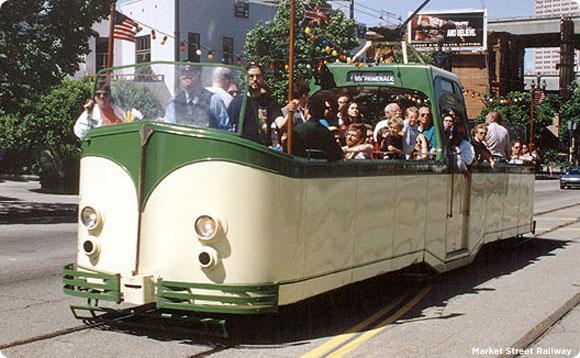 Classic Car 1934 Blackpool tram No. 228