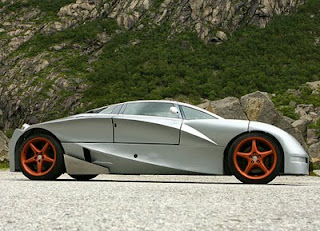 Greats Modern Design Aetek FYK futuristic concept car