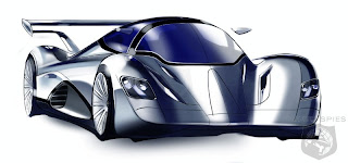 New  Modern Design RORMaxx Wind EV futuristic Concept Car