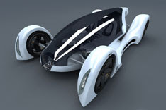 Peugeot OXO concept car futuristic for future