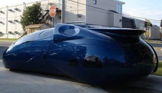 Modern Blue Djinn from Fastlane Futuristic concept car