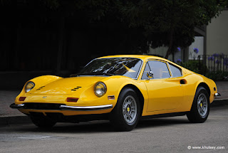 amazing design Ferrari Dino concept car