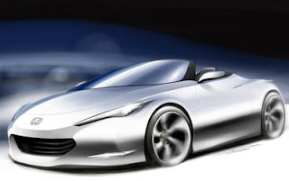 Modern Design Honda Futuristic concept car for Future