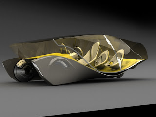 New Design Daedalus futuristic Concept car for future