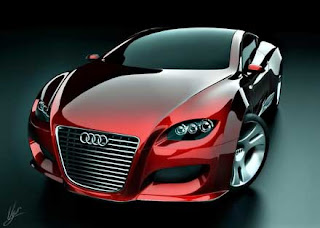 Greats Design Futuristic Audi concept car for future