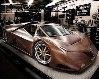 Most Unique Design Lamborghini  Wood Supercar