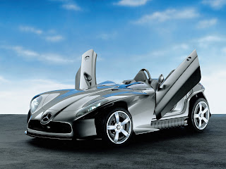 Modern Design Mercedes-Benz Type F400 Carving Concept Car