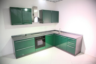 Modern Green Kitchens Design Decorate