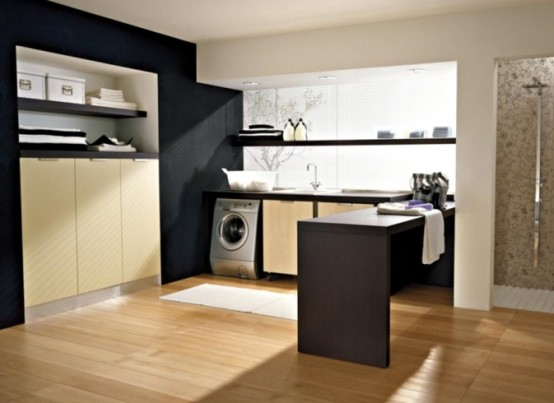 Design Modern Laundry Room Decorate