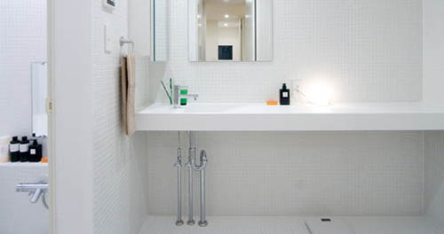 Modern japanese interior design by muji home interior design Japanese bathroom interior design