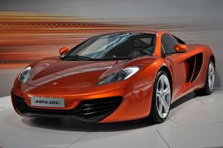 New McLaren Automotive MP4-12C Supercar