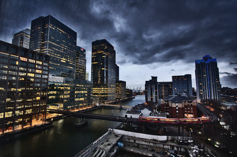 LONDRES DOCKS CANARY WHARF
