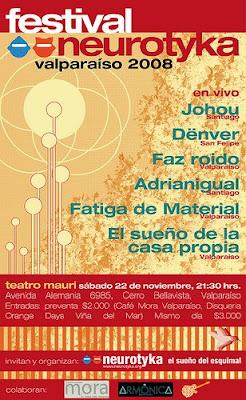 Festival Neurotyka Valparaiso 2008