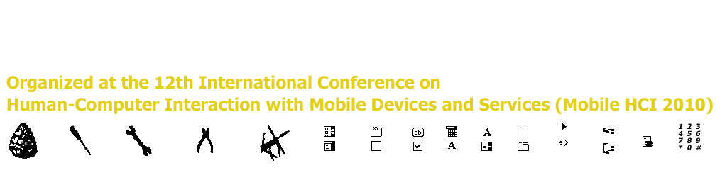 Workshop on Tool-Support for Mobile and Pervasive Application Development