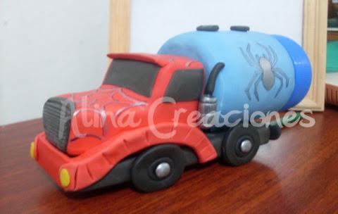 Camion en porcelana fria