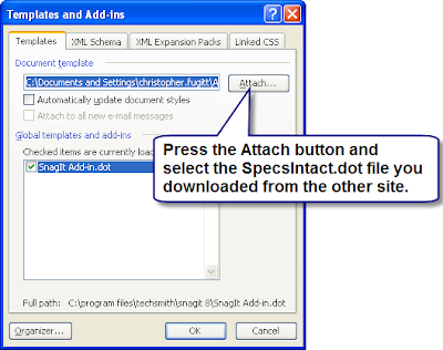 Civil 3D Reminders: From Word to SpecsIntact