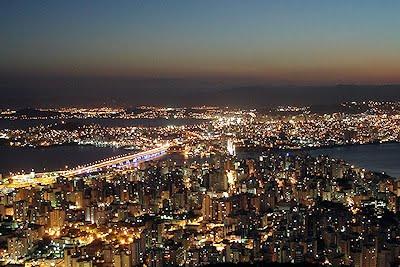 Florianópolis a noite