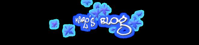 Kiaro's Blog