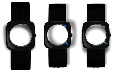Faceless Watch by Qian Yiran 1 Eye of the Storm Watch   Qian Yiran