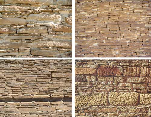 Image gallery masonry styles for Brick types and styles