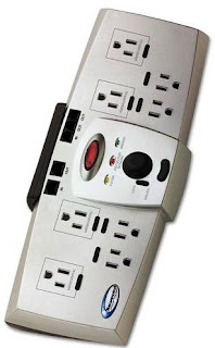 Newpoint Centra 8 Outlet Surge Protectors