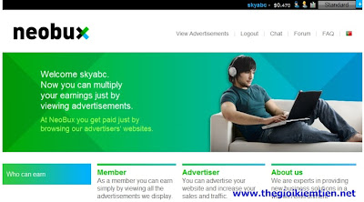 33 Hướng dẫn kiếm tiền trên mạng với Neobux chi tiết A Z