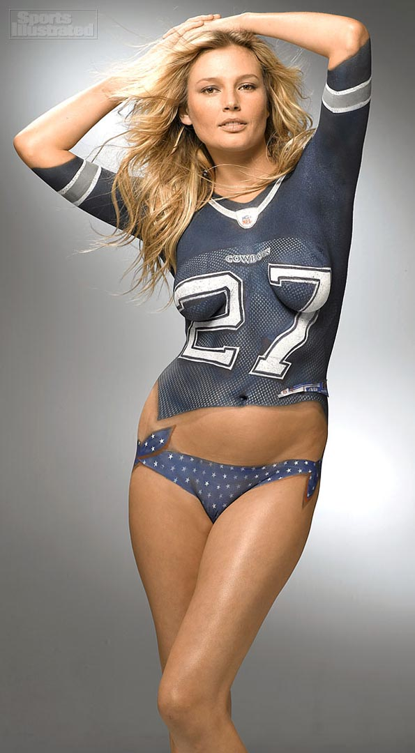 DallasFanBodyPaint Sports Babes