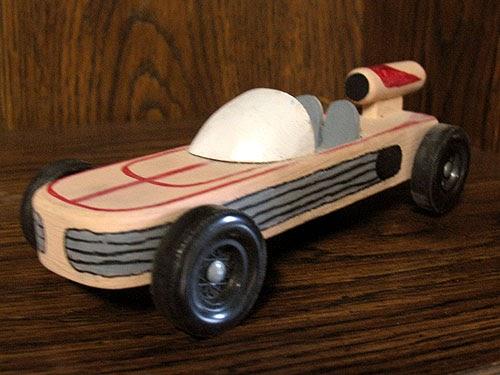 Pinewood Derby Designs ~ Jimsmash pinewood derby car land speeder