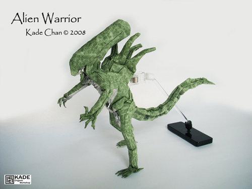 jimsmash someone make this origami alien for me please