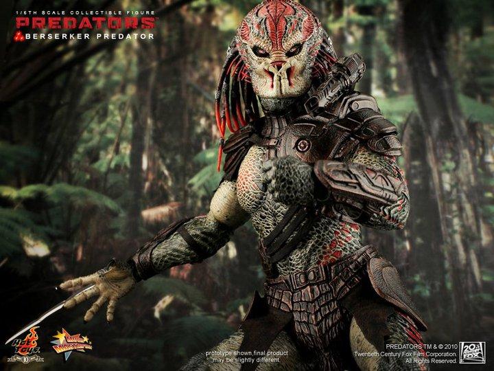 jimsmash hot toys sweet berserker predator