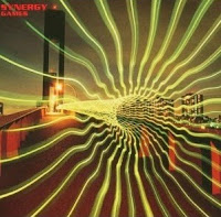 Portada del cuarto álbum de Larry Fast, Games