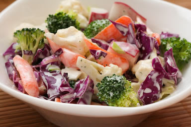 Cruciferous Chopped Salad