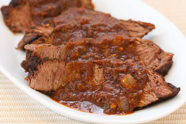 Easy Southwestern Pot Roast from the Crockpot