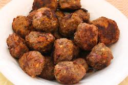 Kalyn's Kitchen®: Baked Greek Meatballs with Feta (Low-Carb, Gluten ...