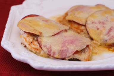 Easy and relatively diet-friendly Chicken Cordon Bleu