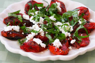 Quick Roasted Tomatoes