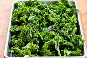Recipe for Roasted Kale Chips with Sea Salt and Vinegar | Kalyn's ...