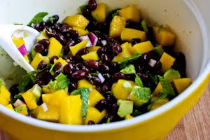 Kalyn's Kitchen®: Recipe for Mango Salad with Black Beans ...